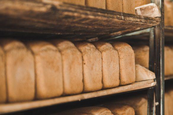 Mass produced bread