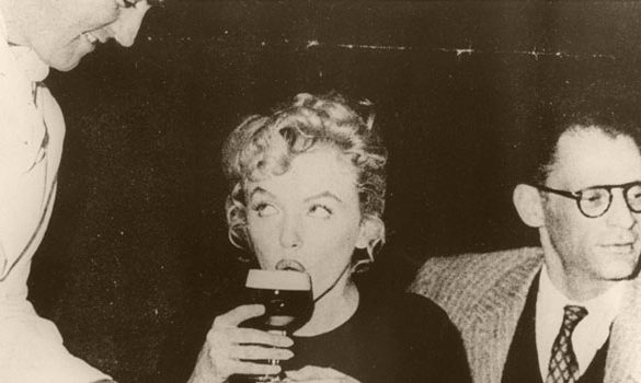 Marilyn Monroe and Irish coffee
