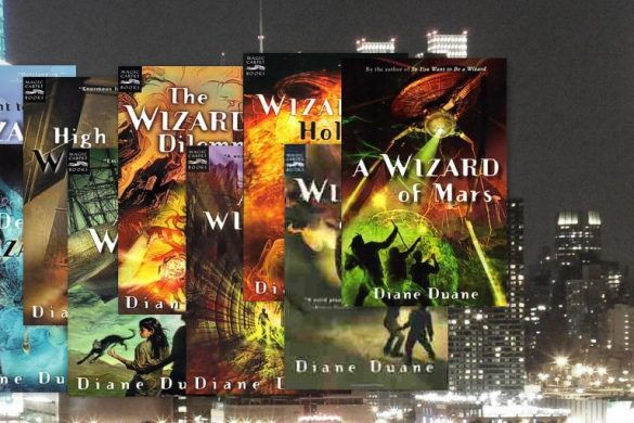 The first 9 Young Wizards novels