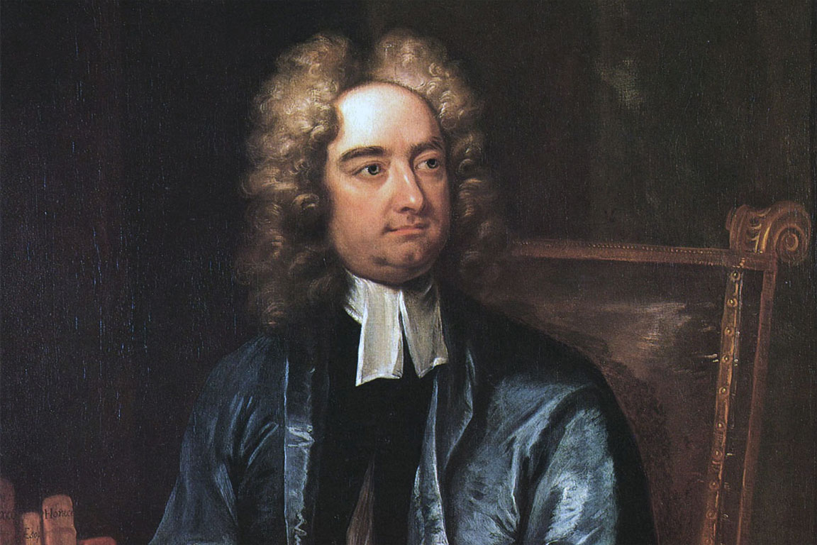Jonathan Swift, Dean of Christchurch Cathedral, Dublin