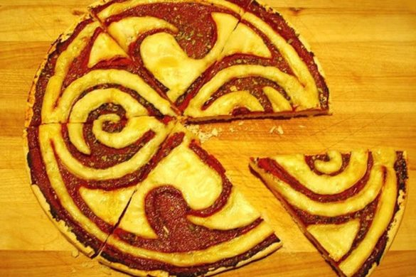 A pizza of Rassilon