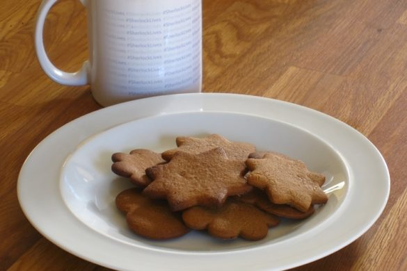 Braunkuchen (Brown Cookies / Biscuits)