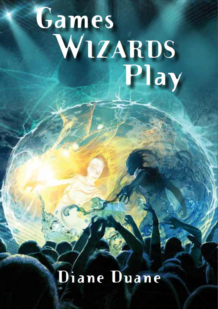 The cover for 'Games Wizards Play'