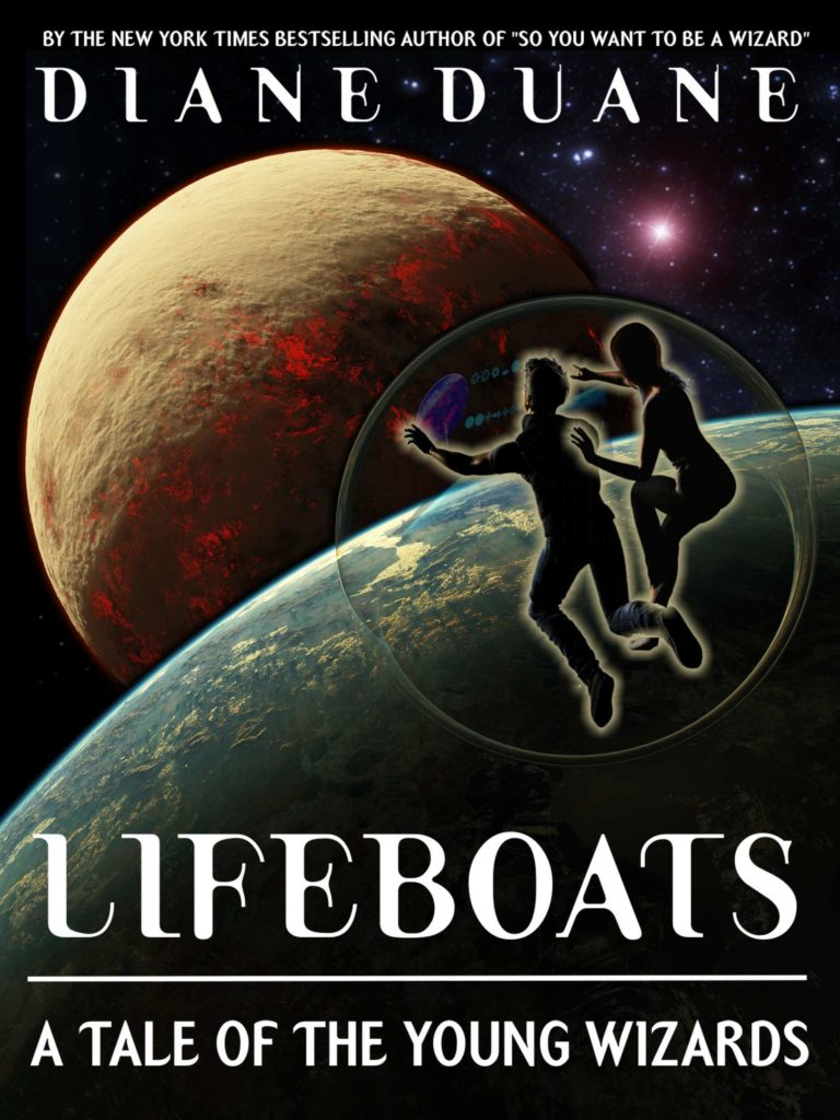 "Cover for ""Young Wizards: Lifeboats"""