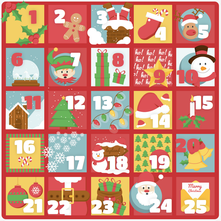 "The ""How Lovely Are Thy Branches"" Advent Calendar - Out of Ambit"
