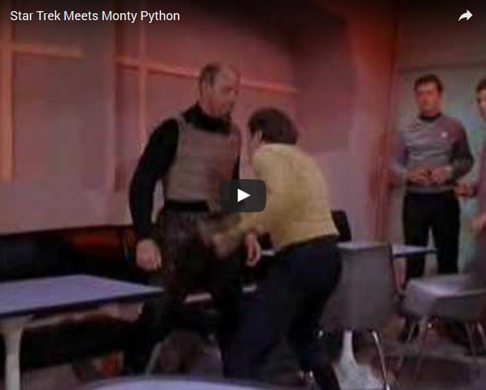 Star Trek meets Monty Python