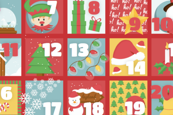 Young Wizards advent calendar