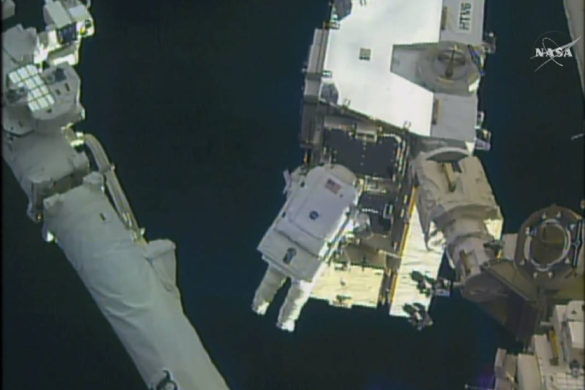 @AstroPeggy spacewalks