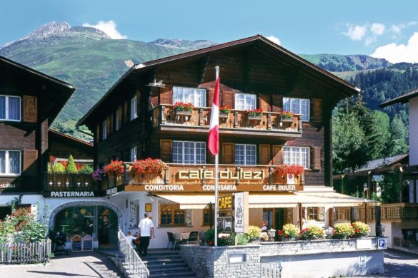 The confiserie in Sedrun