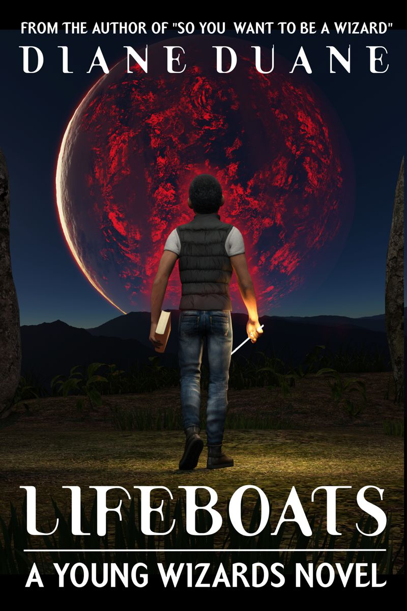 YOUNG WIZARDS: LIFEBOATS cover