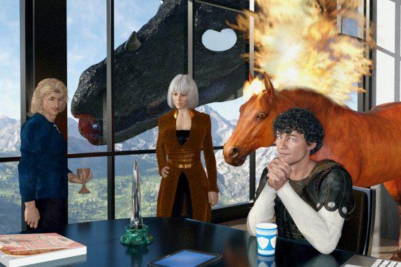 The Five contemplate a Hugo Award